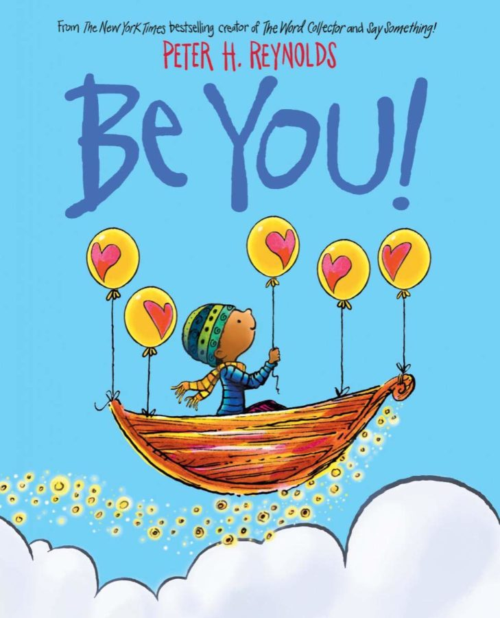 "book cover of ""Be You"" by Peter H. Reynolds"