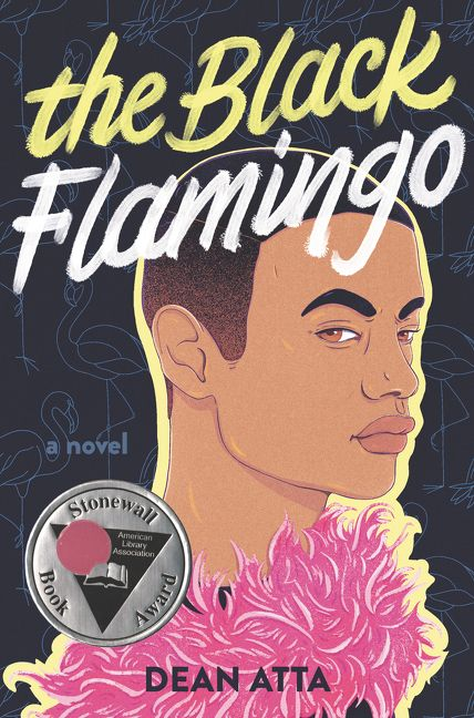 "book cover of ""the Black Famingo"" by by Dean Atta"