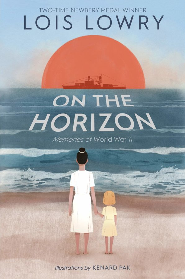 book cover of On the Horizon by Lois Lowry