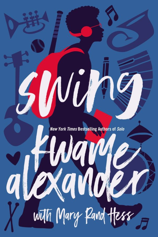 "book cover of ""Swing"" by Kwame Alexander"