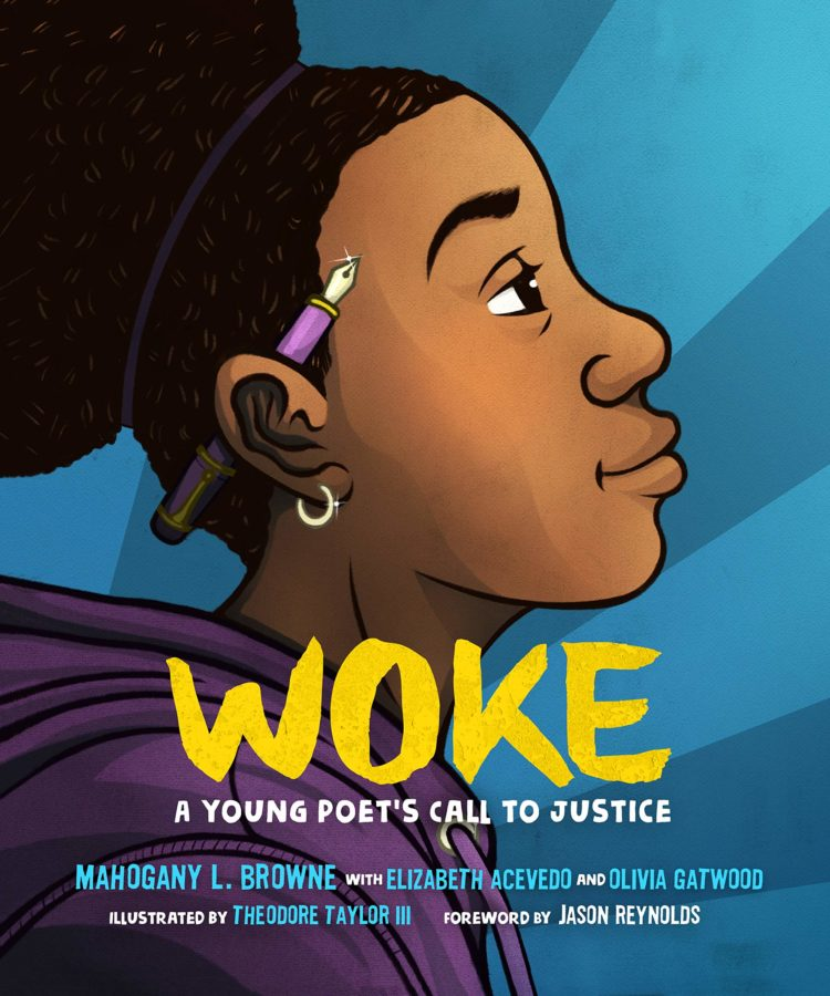 book cover of Woke: A Young Poets Call to Justice by various authors