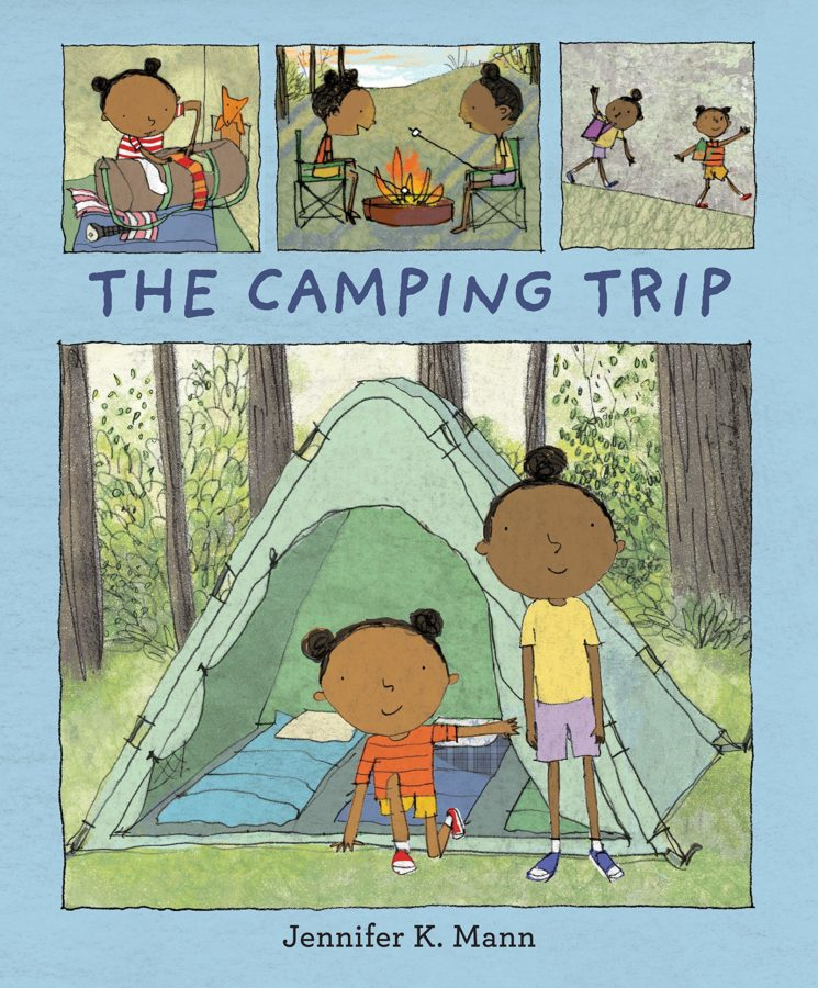 Book cover of The Camping Trip by Jennifer K. Mann