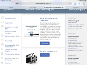 wms homepage