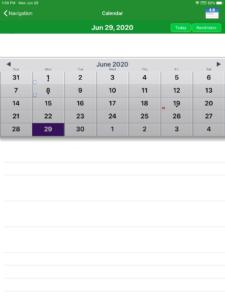 StudentVueカレンダー