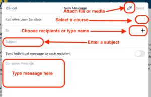 Canvas App Posteingang komponieren