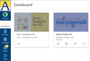 Canvas browser dashboard
