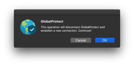Set the GlobalProtect Gateway on MacBook Airs