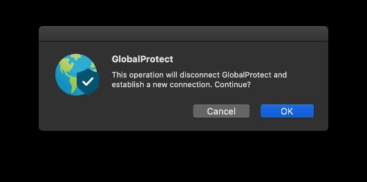MacBook AirにGlobalProtectゲートウェイを設定する