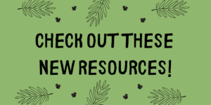 Check out these new resources logo