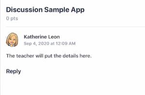 Canvas app discussion