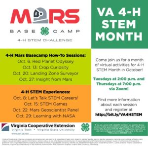 4H STEM Events