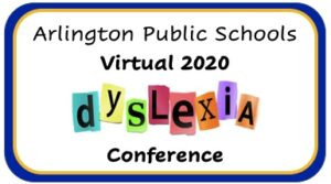 APS Виртуал 2020 Dyslexia чуулганы лого