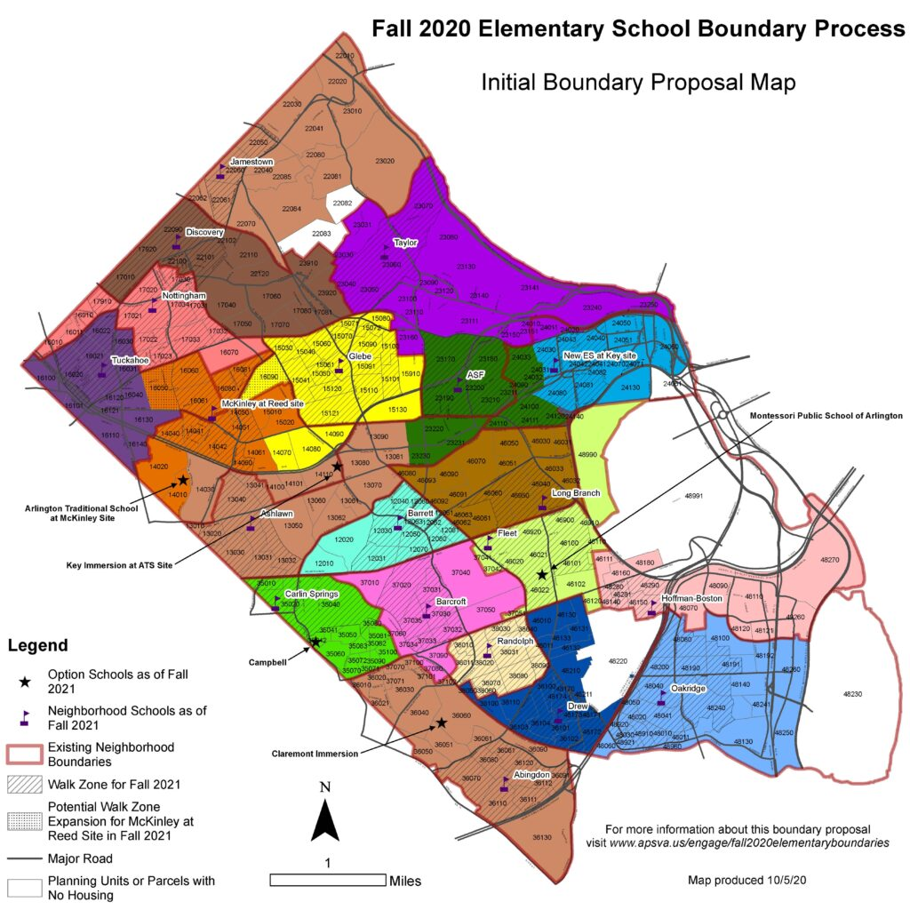 Initial Boundary Proposal Map Major Roads Only_10_05_20