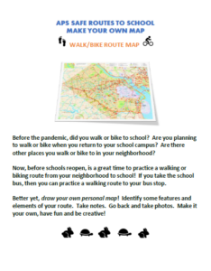 MAP YOUR ROUTE-color photo