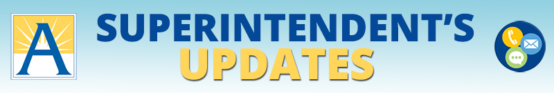 Superintendent's Updates logo