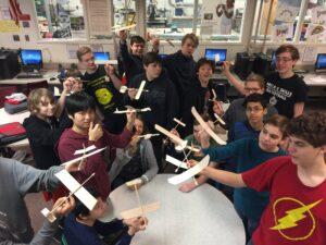 Jim DeMarino's students