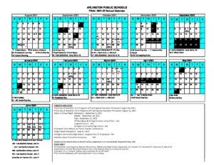 Aps Calendar 2022.Final 2021 22 School Calendars 12 3 20 Arlington Public Schools