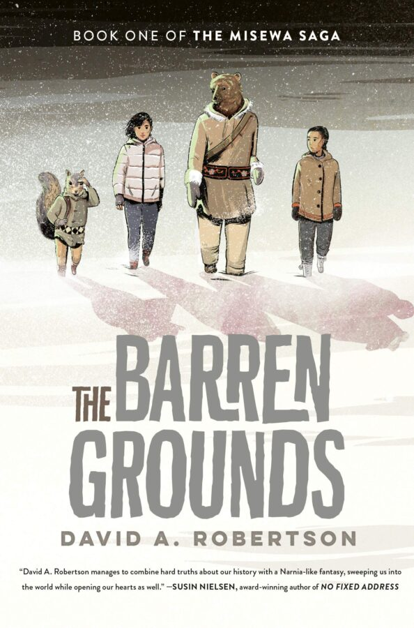 Book cover of The Barren Grounds by David A. Robertson