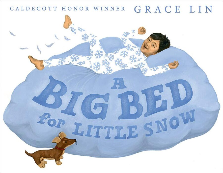 Book cover Big Bed for Little Snow by Grace Lin