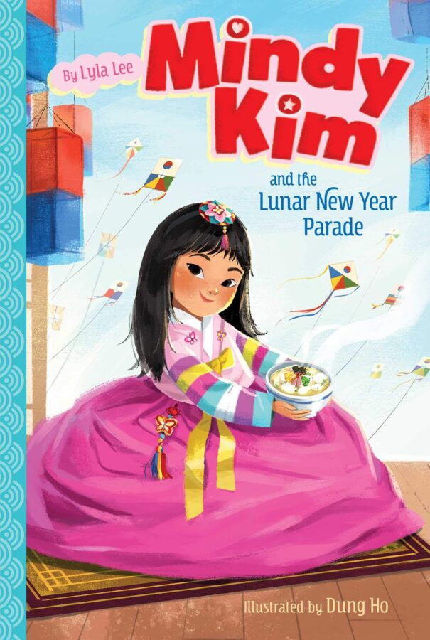 Book cover of Mindy Kim and the Lunar New Year Parade by Lyla Lee and Dung Ho
