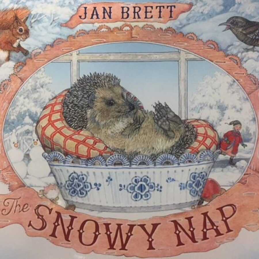 Book cover of The Snowy Nap by Jan Brett