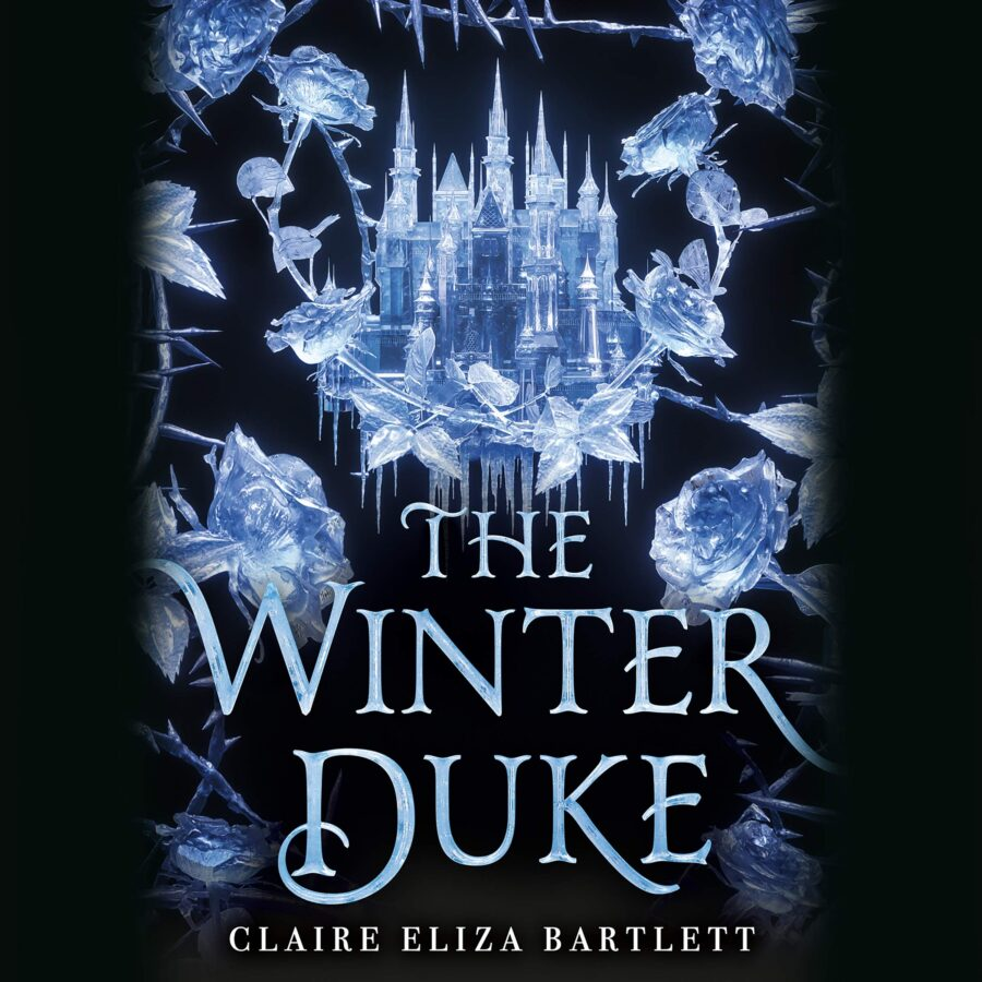 Book cover of The Winter Duke by Claire Eliza Bartlett