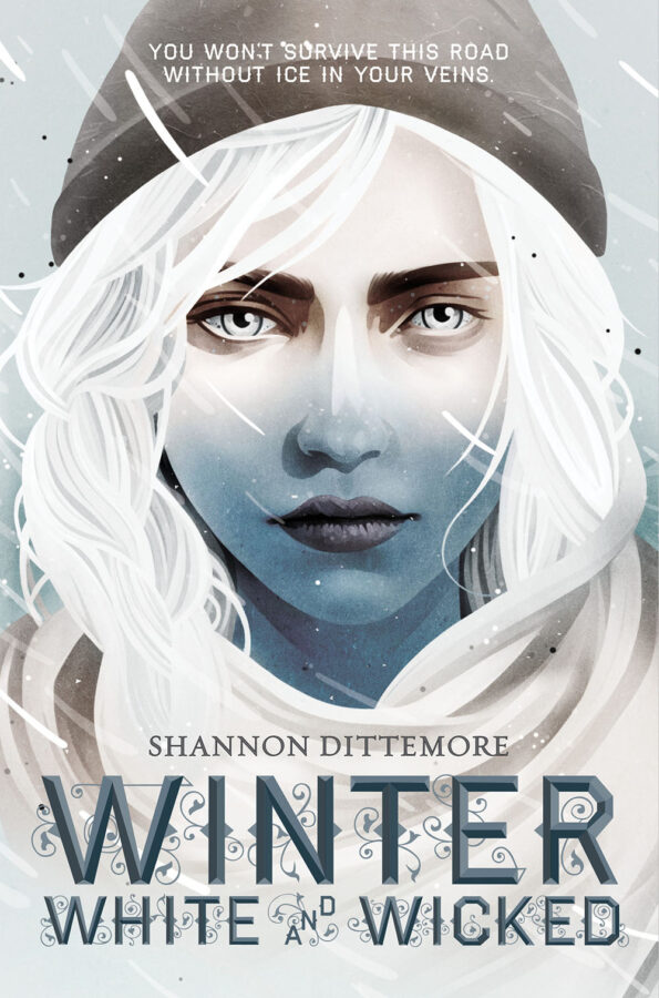 Book cover of Winter, White and Wicked by Shannon Dittemore