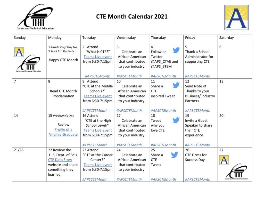 Lịch tháng của CTE 2021 [1]