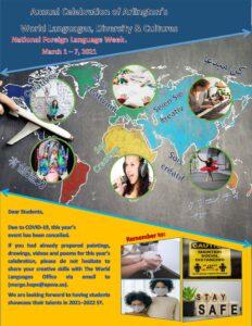 Jährliche Feier - Weltsprachenfeier