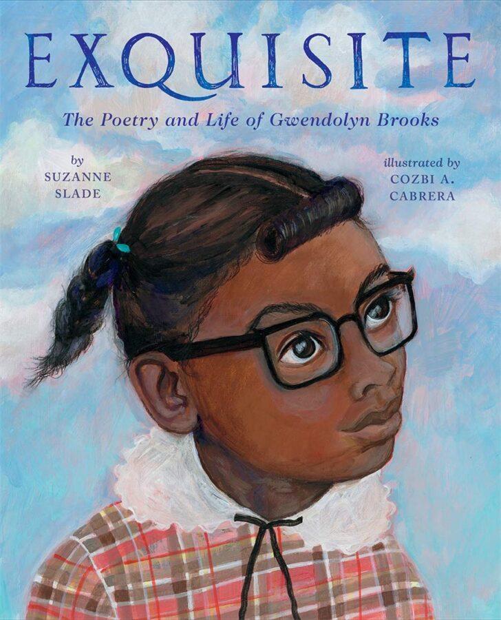 Обложка книги Сюзанны Слейд «Изысканное: поэзия и жизнь Гвендолин Брукс»
