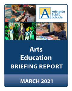 Bìa báo cáo Giáo dục Nghệ thuật