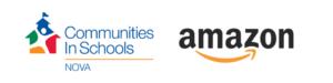 Communities in Schools and Amazon Logo