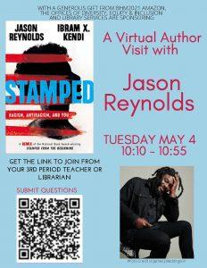 Jason Reynolds Flyer