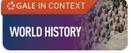 Gale World History database logo
