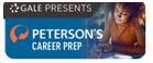Gale presents petersons career prep database logo