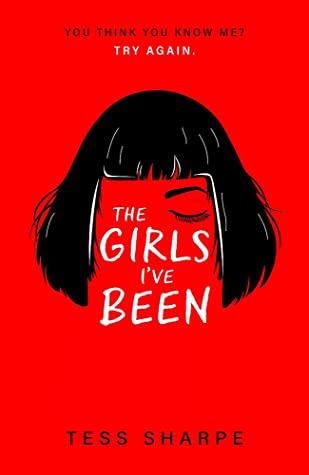 """Обложка книги Тесс Шарп """"Девушки, которыми я был"""""""