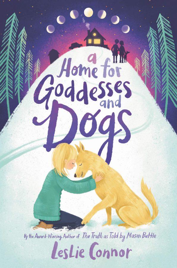 Обложка книги Лесли Коннора «Дом для богинь и собак»