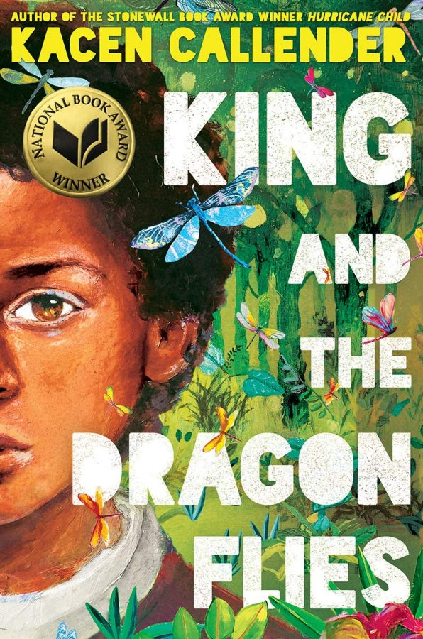 Обложка книги Касена Каллендера «Король и стрекозы»