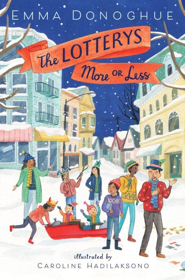 Обложка книги «Более или менее лотереи» Эммы Донохью; иллюстрировано Кэролайн Хадилаксоно