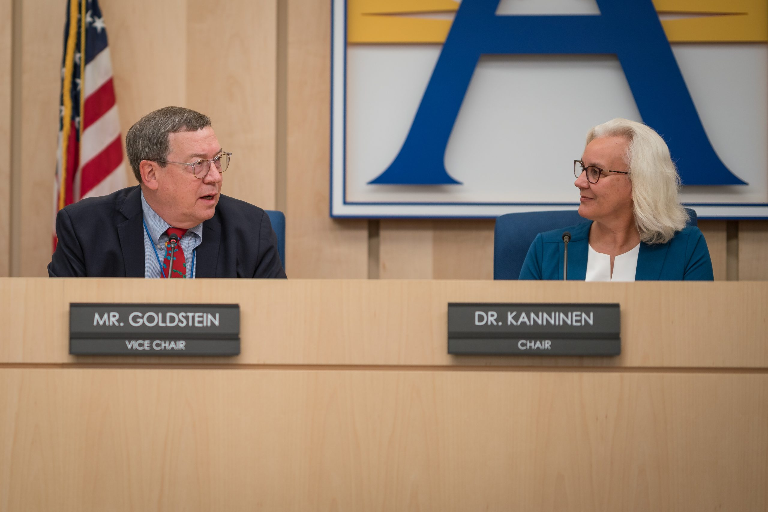 Reid Goldstein y Barbara Kanninen