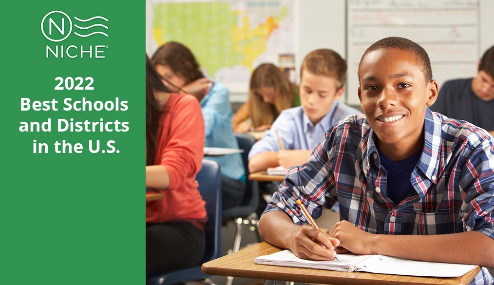 APS 在 Niche 的最佳学校报告中,在弗吉尼亚州排名第二
