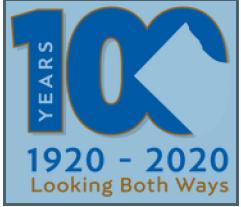 100 жилийн Арлингтоны лого